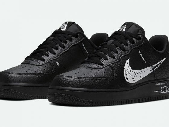 Nike Air Force 1 Low LV8 Utility ''Sketch'' - Black