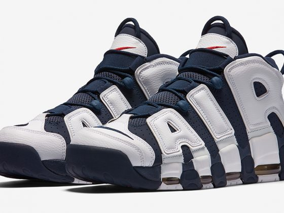 Nike Air More Uptempo ''Olympic'' - 2020 - 414962-104