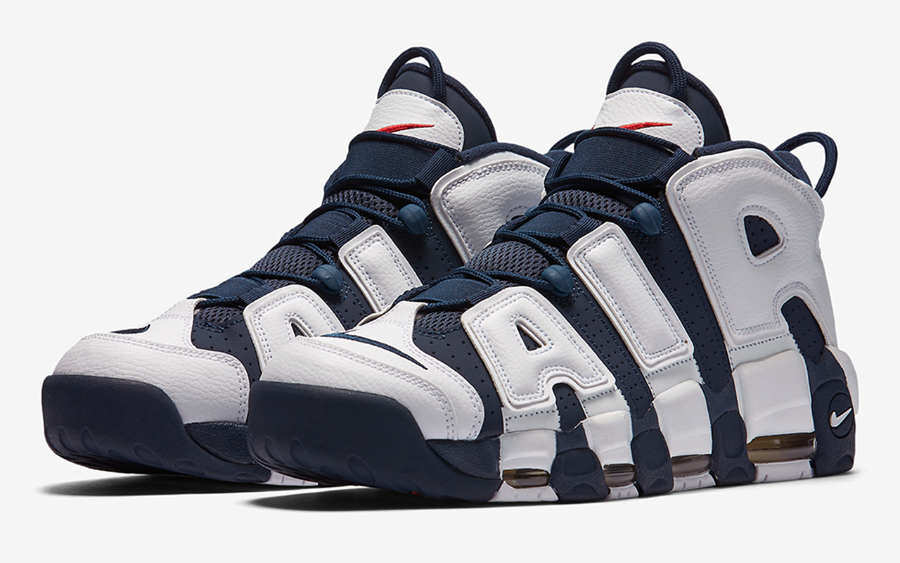 Nike Air More Uptempo ''Olympic'' 2020 414962 104 Sneaker Style