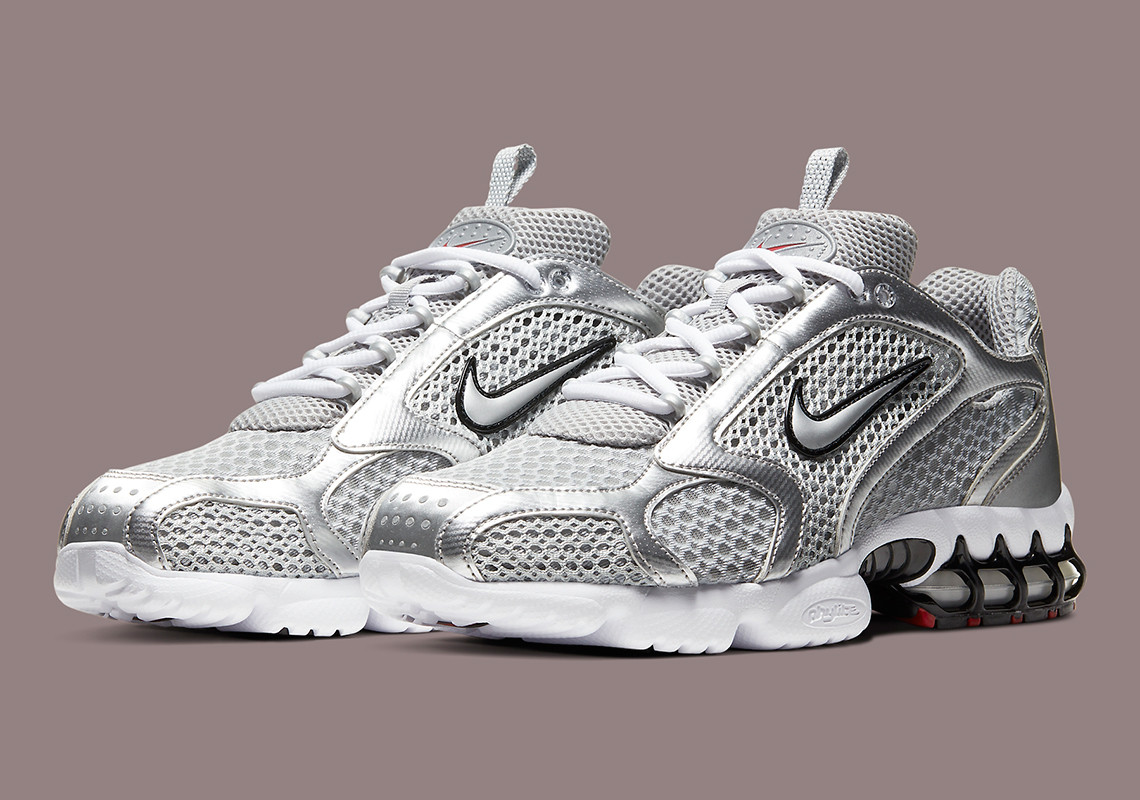 Nike Air Zoom Spiridon Caged 2 ''Metallic Silver'' - CJ1288-001