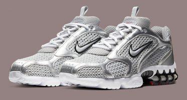 NikeAir Zoom Spiridon Caged 2 ''Metallic Silver''