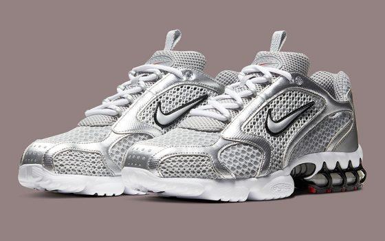 Nike Air Zoom Spiridon Caged 2 ''Metallic Silver'' - CJ1288-001