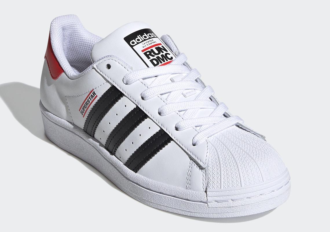 Run-DMC x adidas Superstar ''50th Anniversary'' - White - FY4054