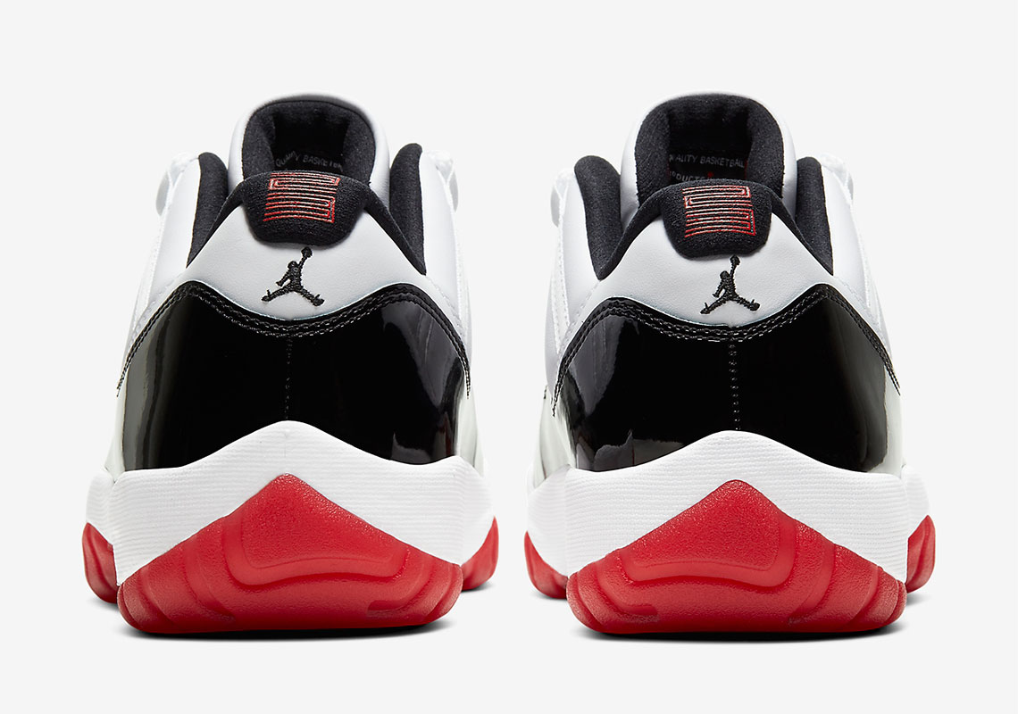 Air Jordan 11 Retro Low ''Concord/Bred'' - AV2187-160