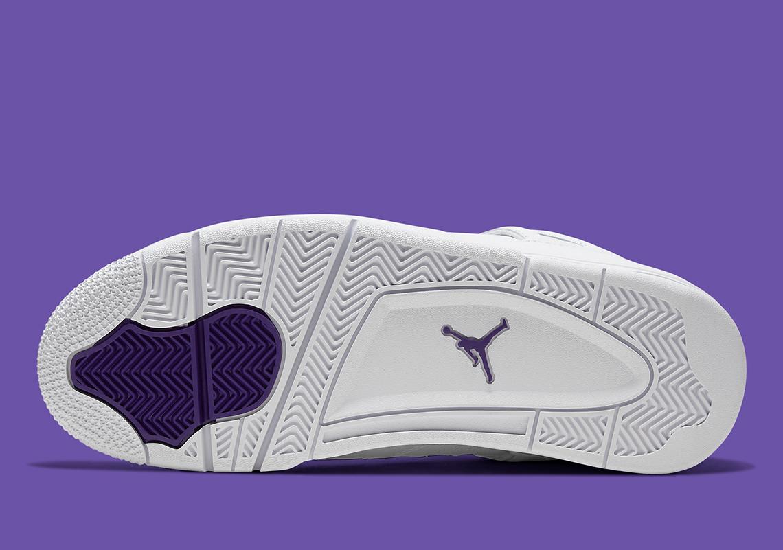 Air Jordan 4 ''Metallic Purple'' - CT8527-115