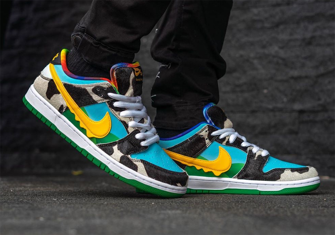 Ben & Jerry's x Nike SB Dunk Low ''Chunky Dunky'' - CU3244-100