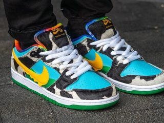 Ben & Jerry'sNike SB Dunk Low ''Chunky Dunky''