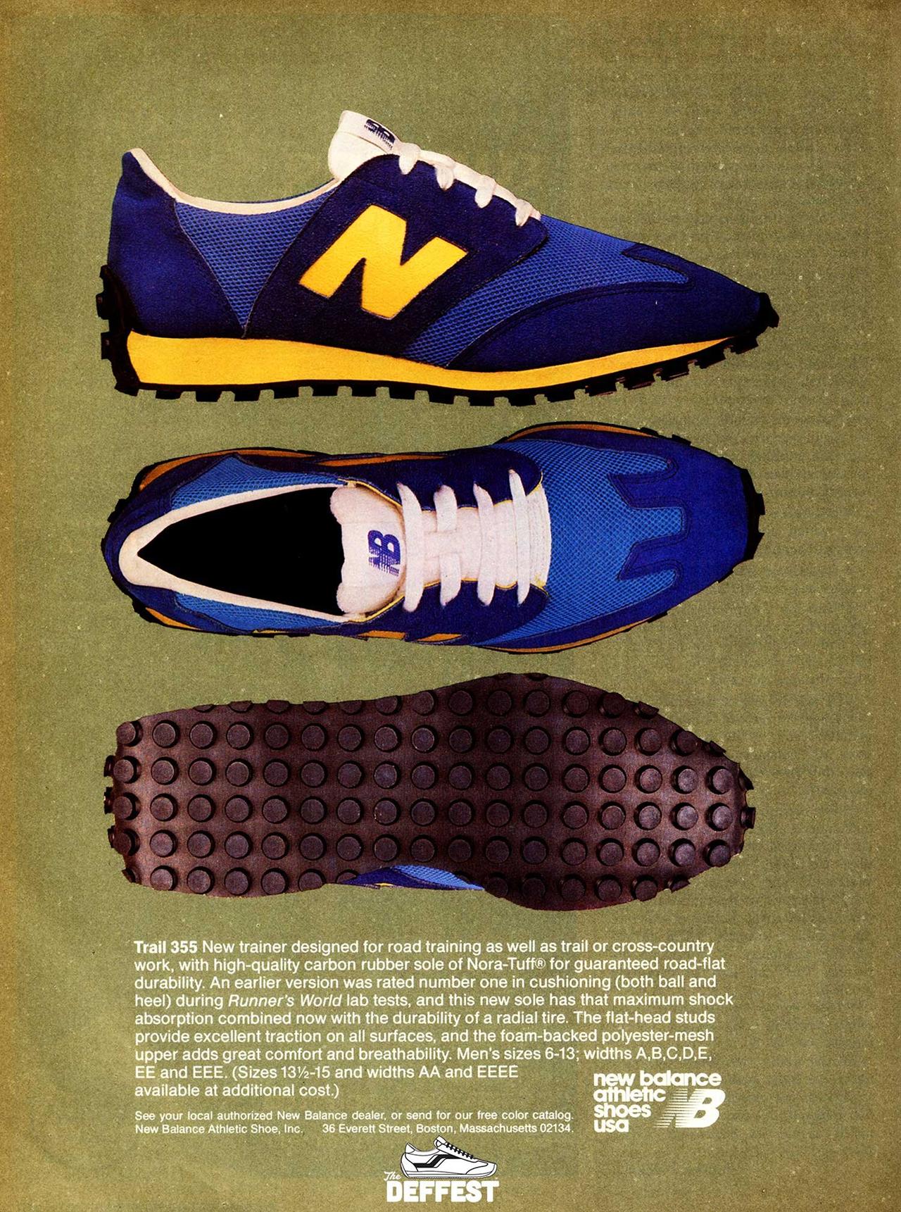 New Balance 355 - Original ad