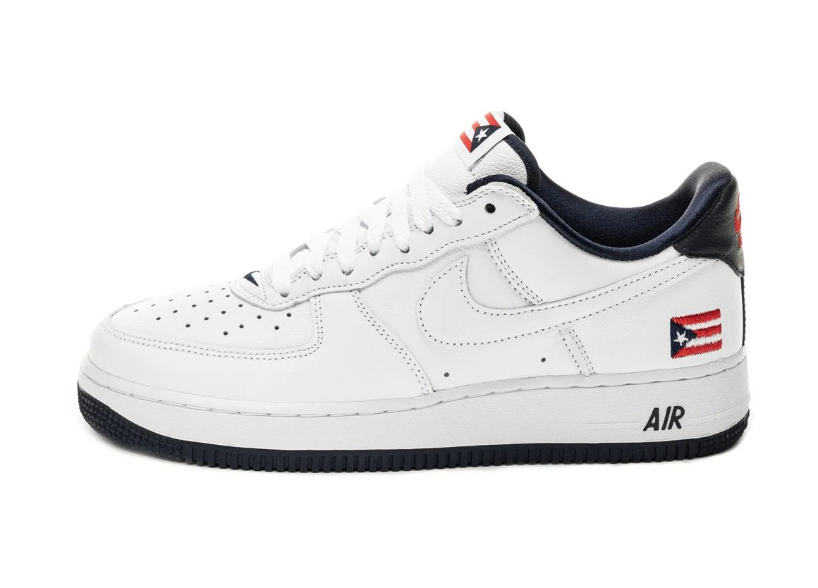 Nike Air Force 1 ''Puerto Rico'' - 2020 - CJ1386-100