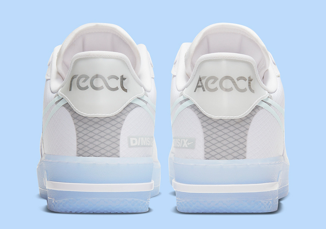 Air Force 1 React QS ''White Ice''