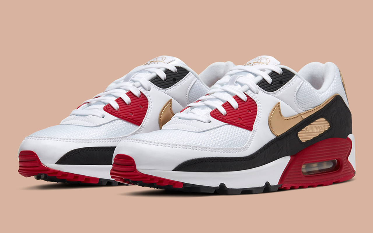 Nike Air Max 90 ''CNY'' ''Year Of The Rat'' CU3005 171 Sneaker Style