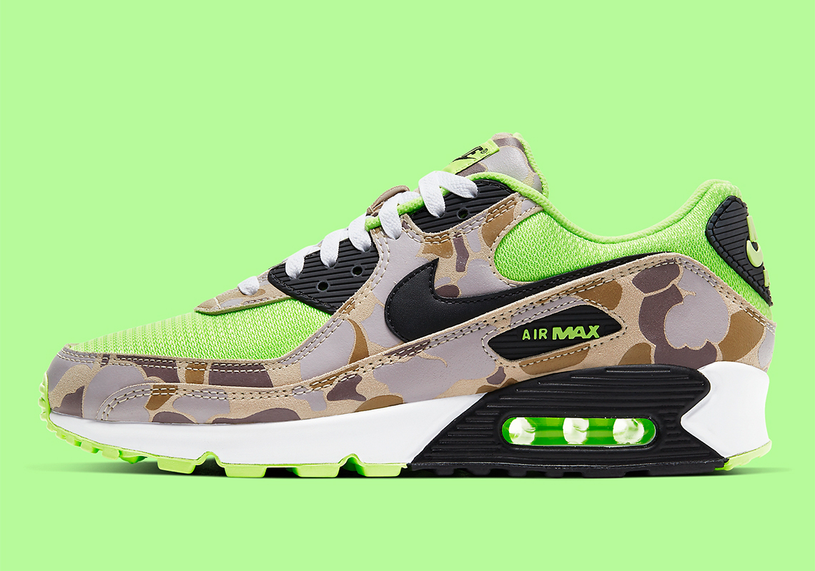 Nike Air Max 90 SP ''Volt Duck Camo'' - CW4039-300