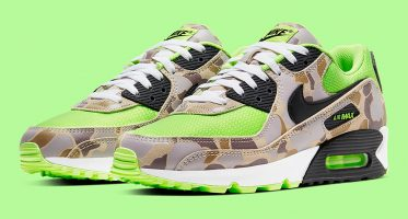 NikeAir Max 90 SP ''Volt Duck Camo''