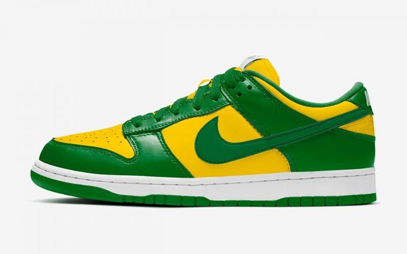Nike Dunk Low SP ''Brazil'' - CU1727-700