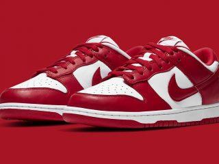 NikeDunk Low SP ''University Red''