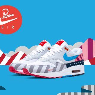 Parra x Nike Air Max 1 - 2018 - AT3057-100
