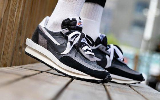Sacai x Nike LD Waffle ''Black/White'' - BV0073-001