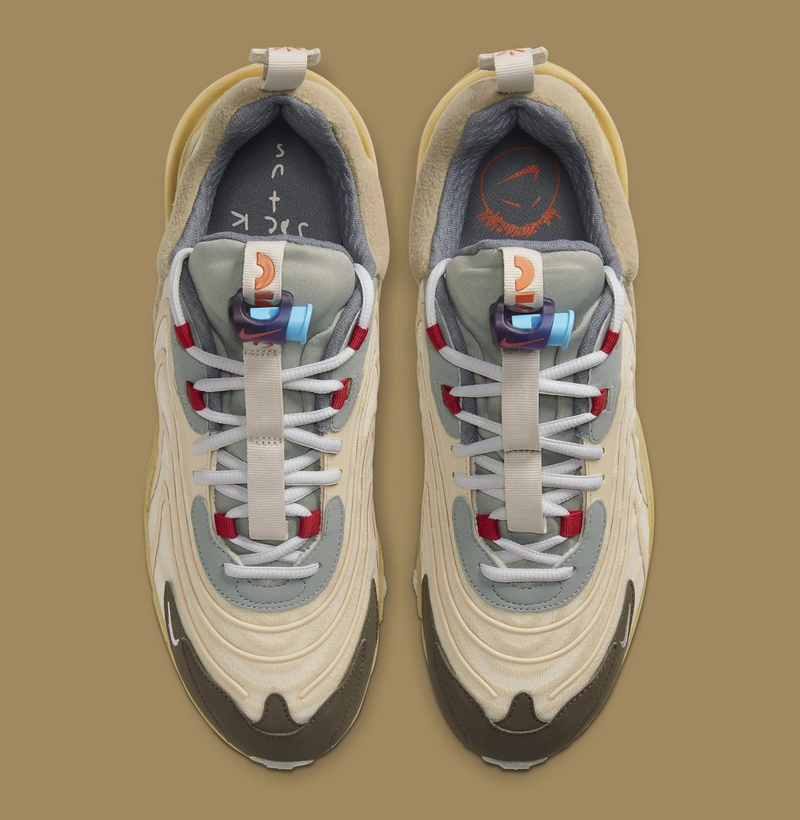 Travis Scott x Nike Air Max 270 React ''Cactus Trails'' - CT2864-200