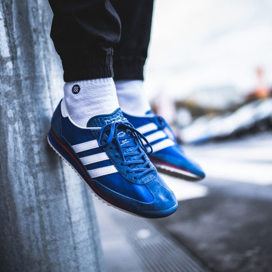adidas Originals SL 72 ''Blue/Cloud White/Hi Res-Red'' - EG6849