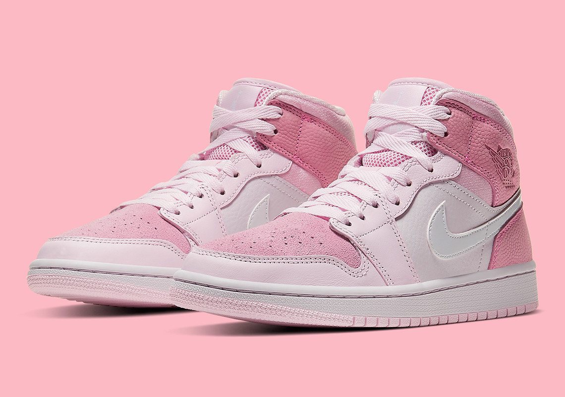 Air Jordan 1 Mid ''Digital Pink'' - CW5379-600