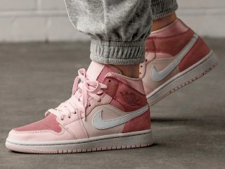 Air Jordan1 Mid ''Digital Pink''