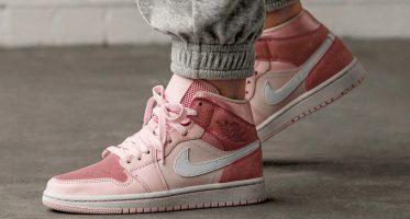 Air Jordan1 Mid ''Digital Pink''