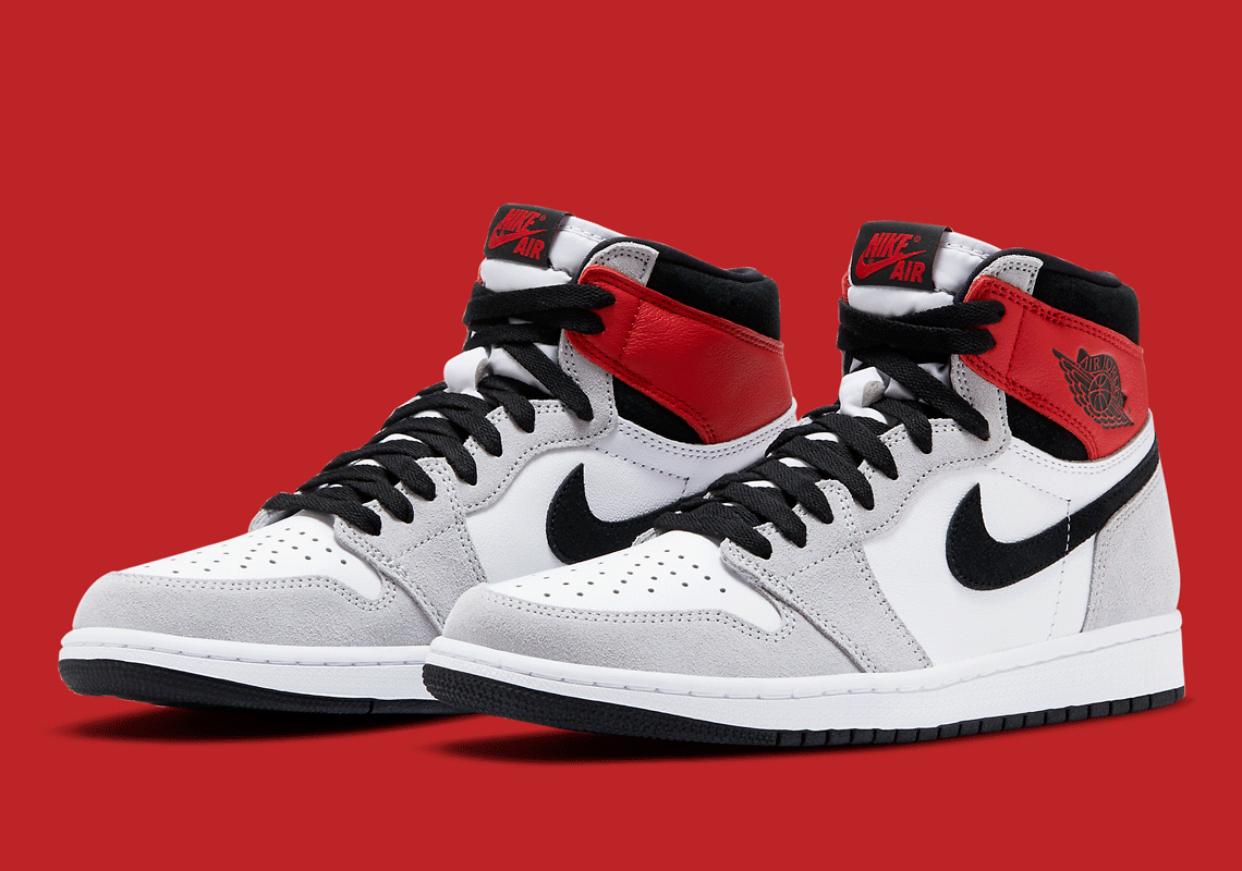 Air Jordan 1 Retro High OG ''Light Smoke Grey'' - 555088-126