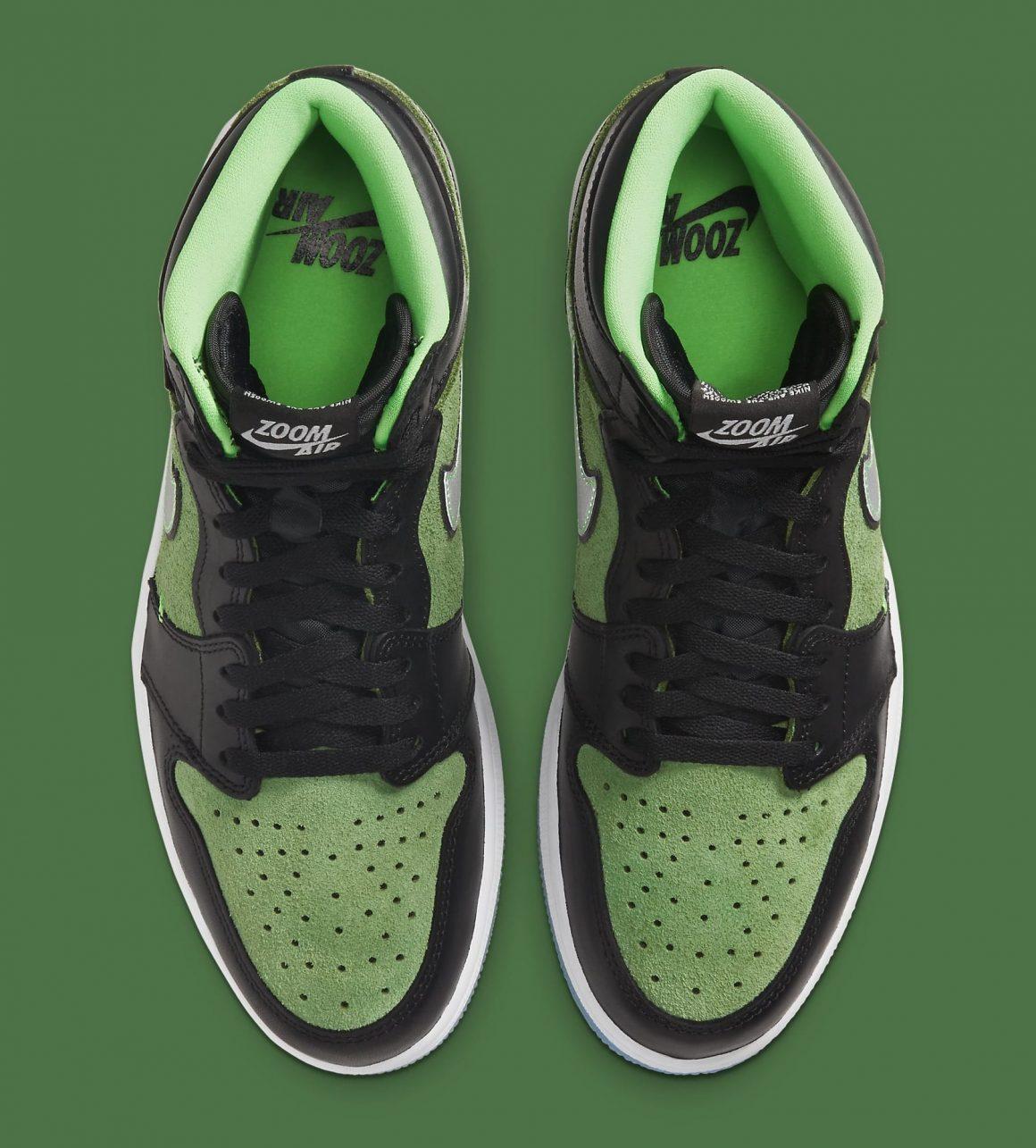 Air Jordan 1 Retro High Zoom ''Rage Green'' - CK6637-002