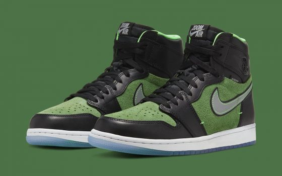 Air Jordan 1 Retro High Zoom ''Rage Green'' - CK6637-002