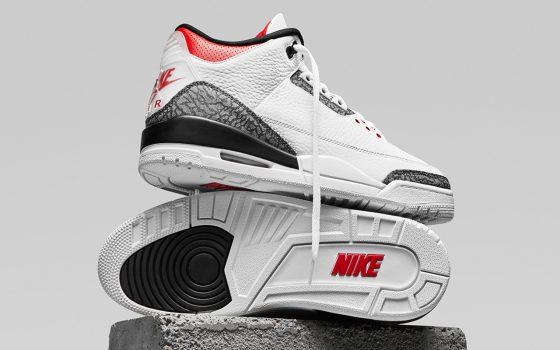 Air Jordan 3 Retro SE ''Denim''/''Fire Red'' - CZ6431-100