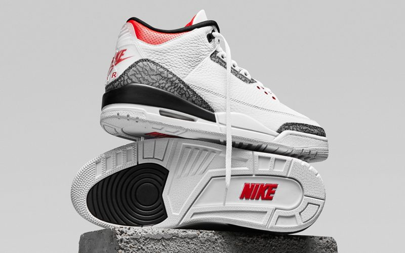 Air Jordan 3 Retro SE ''Denim''/''Fire Red'' - CZ6431-100
