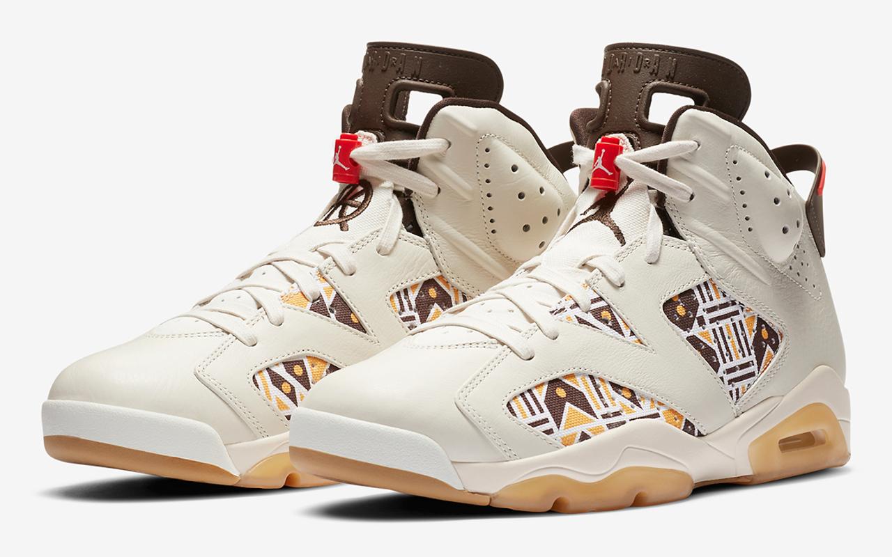 Air Jordan 6 ''Quai 54'' 2020 CZ4152 100 Sneaker Style