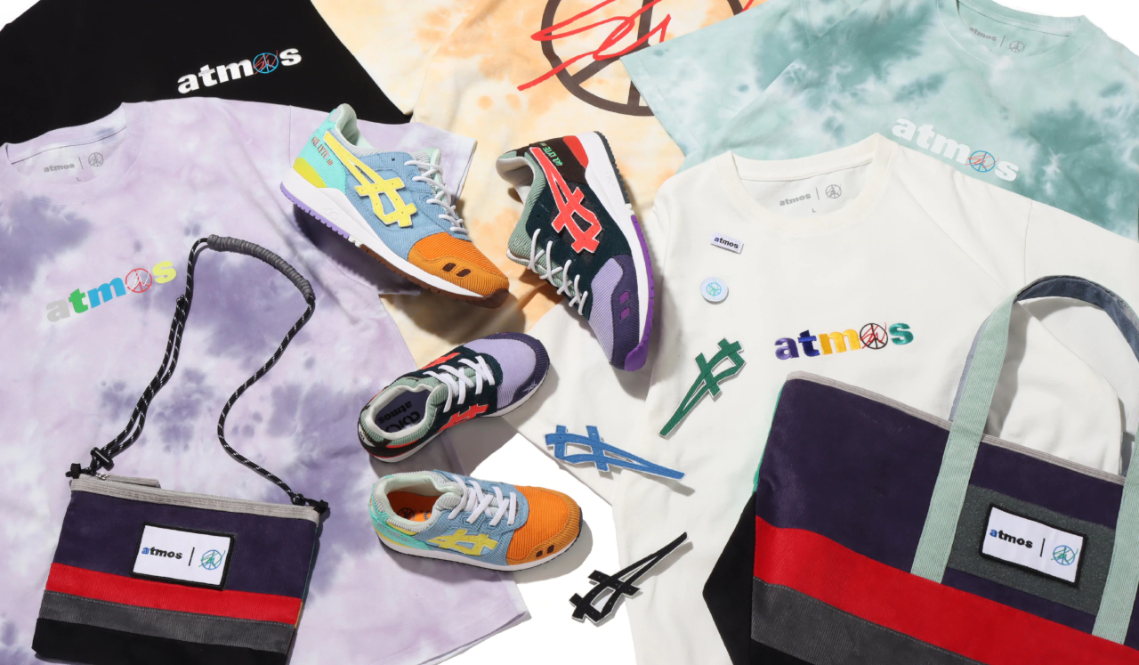 atmos x Sean Wotherspoon x ASICS GEL-Lyte 3 OG ''LA To Tokyo'' - Collection