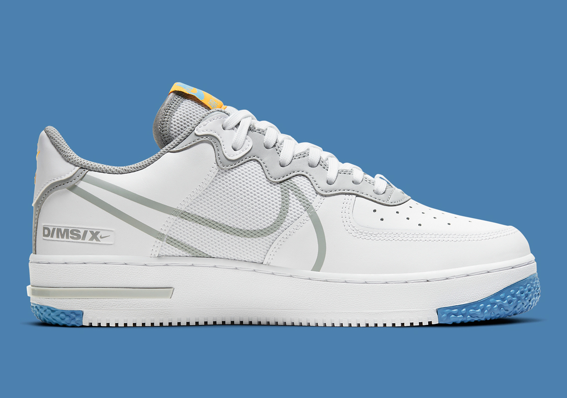 Que vaut la Nike Air Force 1 React Dimsix Light Smoke Grey