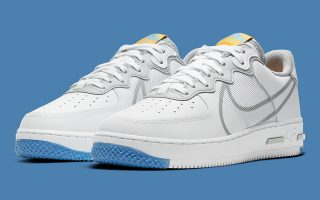 Nike Air Force 1 React ''Light Smoke Grey'' - CT1020-100
