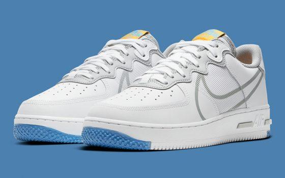 Nike Air Force 1 React ''Light Smoke Grey'' - CT1020-100