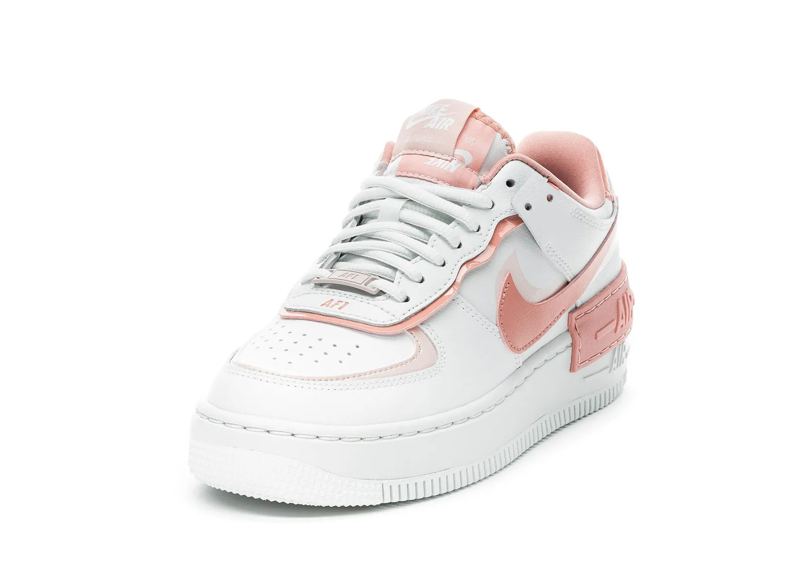 air force 1 shadow rose et rouge