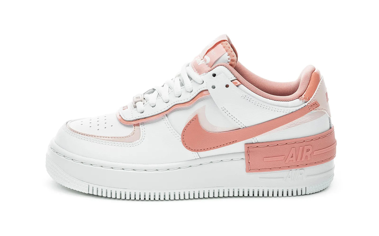 Nike Air Force 1 ''Shadow'' ''Summit WhitePink Quartz'' CJ1641 101 Sneaker Style