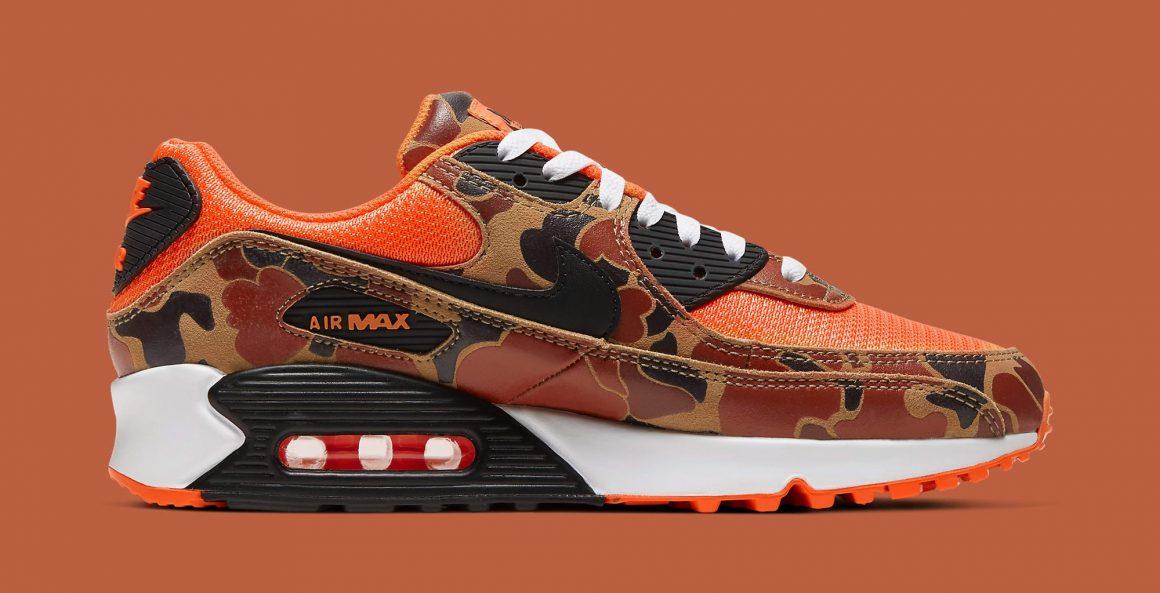 Nike Air Max 90 ''Orange Duck Camo'' - CW4039-800