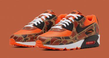 NikeAir Max 90 ''Orange Duck Camo''