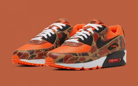 Nike Air Max 90 ''Orange Duck Camo'' - CW4039-800