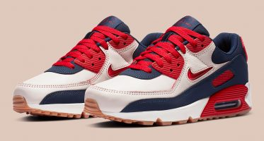 NikeAir Max 90 PRM ''Home and Away'' - ''University Red''