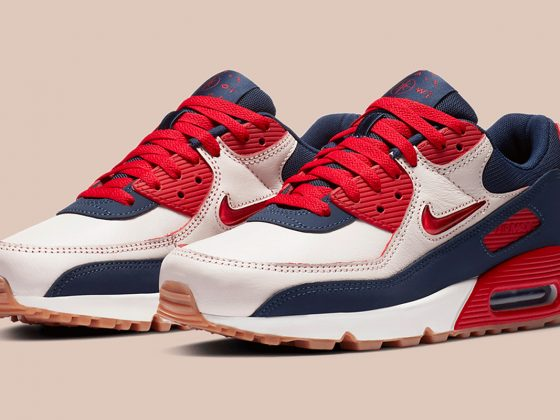 Nike Air Max 90 PRM ''Home and Away'' - ''University Red'' - CJ0611-101