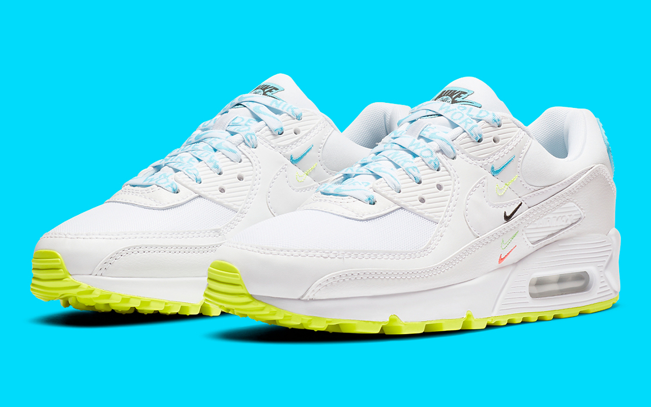 Nike Air Max 90 SE ''Worldwide'' CK7069 100 Sneaker Style