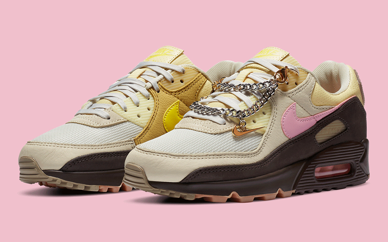 Nike WMNS Air Max 90 ''Velvet BrownPink'' CZ0469 200 Sneaker Style