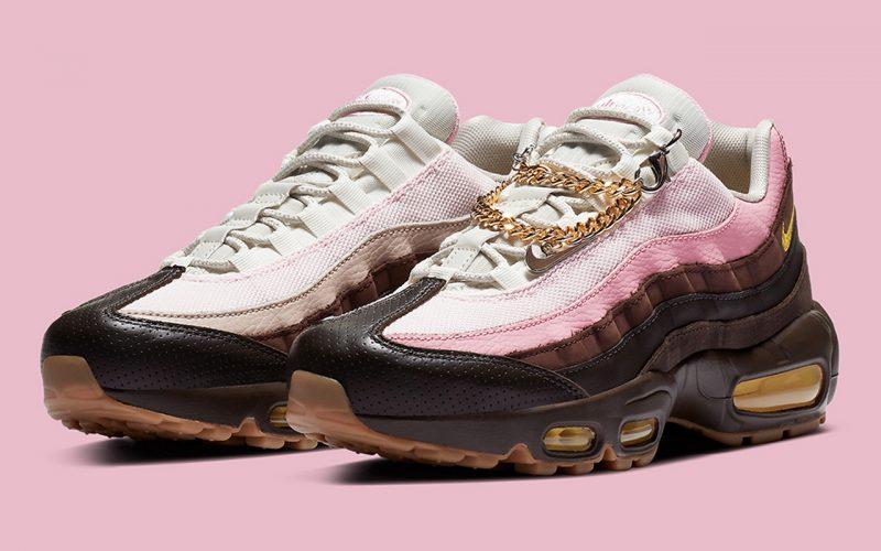 Nike WMNS Air Max 95 ''Velvet Brown/Pink'' - ''Cuban Links'' - CZ0466-200
