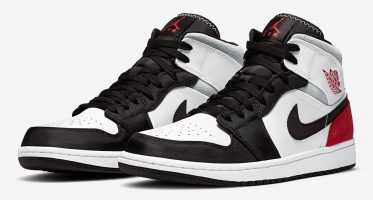 Air Jordan1 Mid SE ''Union Black Toe''