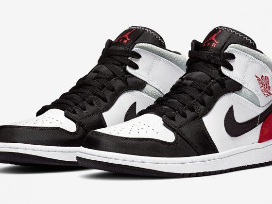 Air Jordan 1 Mid SE ''Union Black Toe'' - 852542-100