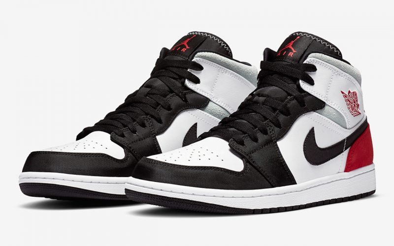 Air Jordan 1 Mid SE ''Union Black Toe'' - 852542-100
