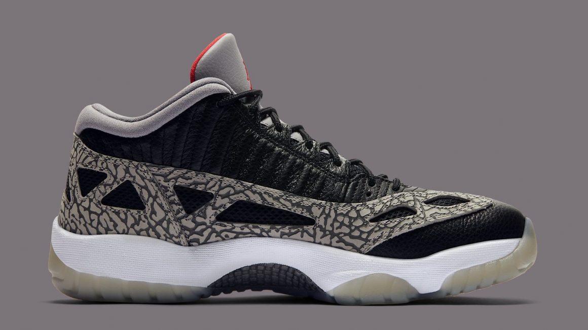 Air Jordan 11 Low I.E. ''Black Cement'' - 919712-006